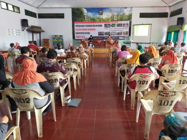 Bulan Dana PMI Kabupaten Blitar digelar di Gedung PGRI, Dinas Pendidikan Kabupaten Blitar