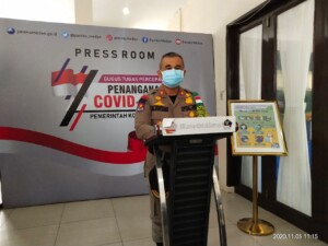 Kepala Satpol PP Kota Medan M Sofyan (Tison / Mattanews.co)