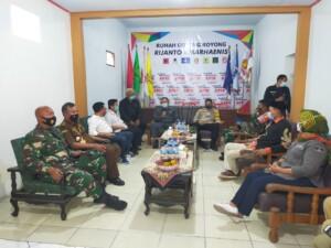 Forkominda kunjungi posko pemenangan dua paslon Pilkada Kabupaten Blitar (Robby / Mattanews.co)