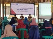 Pelatihan Kewirausahaan Bagi Generasi Muda bersama USAID Jadi Pengusaha Mandiri USAID (Japri) di Balai Desa Tlogo Blitar (Robby / Mattanews.co)