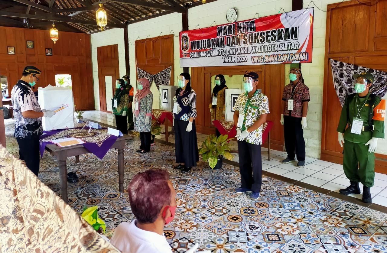Pilkada Kota Blitar Jawa Timur (Robby / Mattanews.co)