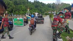 Susana giat karya bakti di Jl. Reklamasi (Jalan Baru) Satu Tungku Tiga Batu Fakfak, Papua Barat