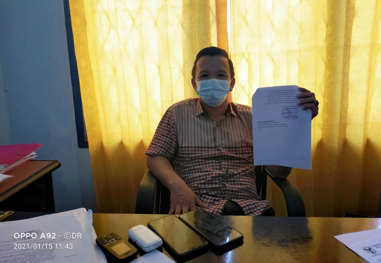 Kepala Seksi Kurikulum dan Penilaian Dinas Pendidikan Batanghari Irsil Syarif