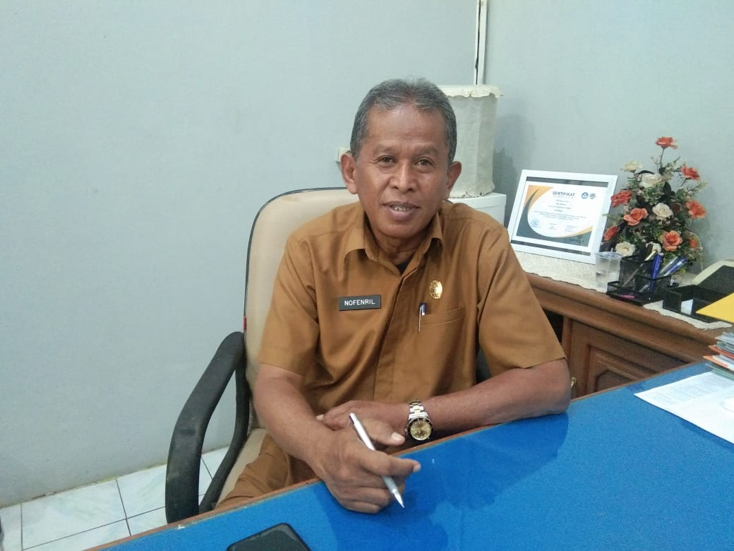 Kepala Dinas PMDKB Tanah Datar Nofendril (M Rafi / Mattanews.co)