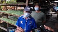 Koordinator Paguyuban Tempe dan Tahu Macan Lindungan Palembang Siswa Waluyo (Janes MG / Mattanews.co)