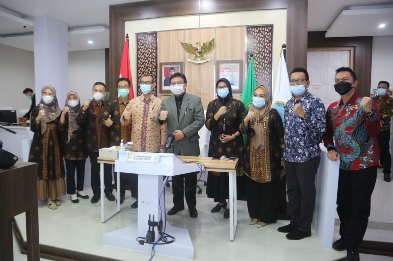 Sekda Sumsel Nasrun Umar pimpin rapat koordinasi dan silaturahmi Forsesdasi.