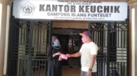 Bantuan masker dari Fachrul Razi.