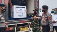 Vaksin Sinovac sudah tiba di Kabupaten Karawang Jabar (Aep / Mattanews.co)