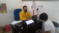 HG, warga Palembang yang menjadi DPO Polda Sumsel akhirnya ditangkap (Dede Febryansyah / Mattanews.co)