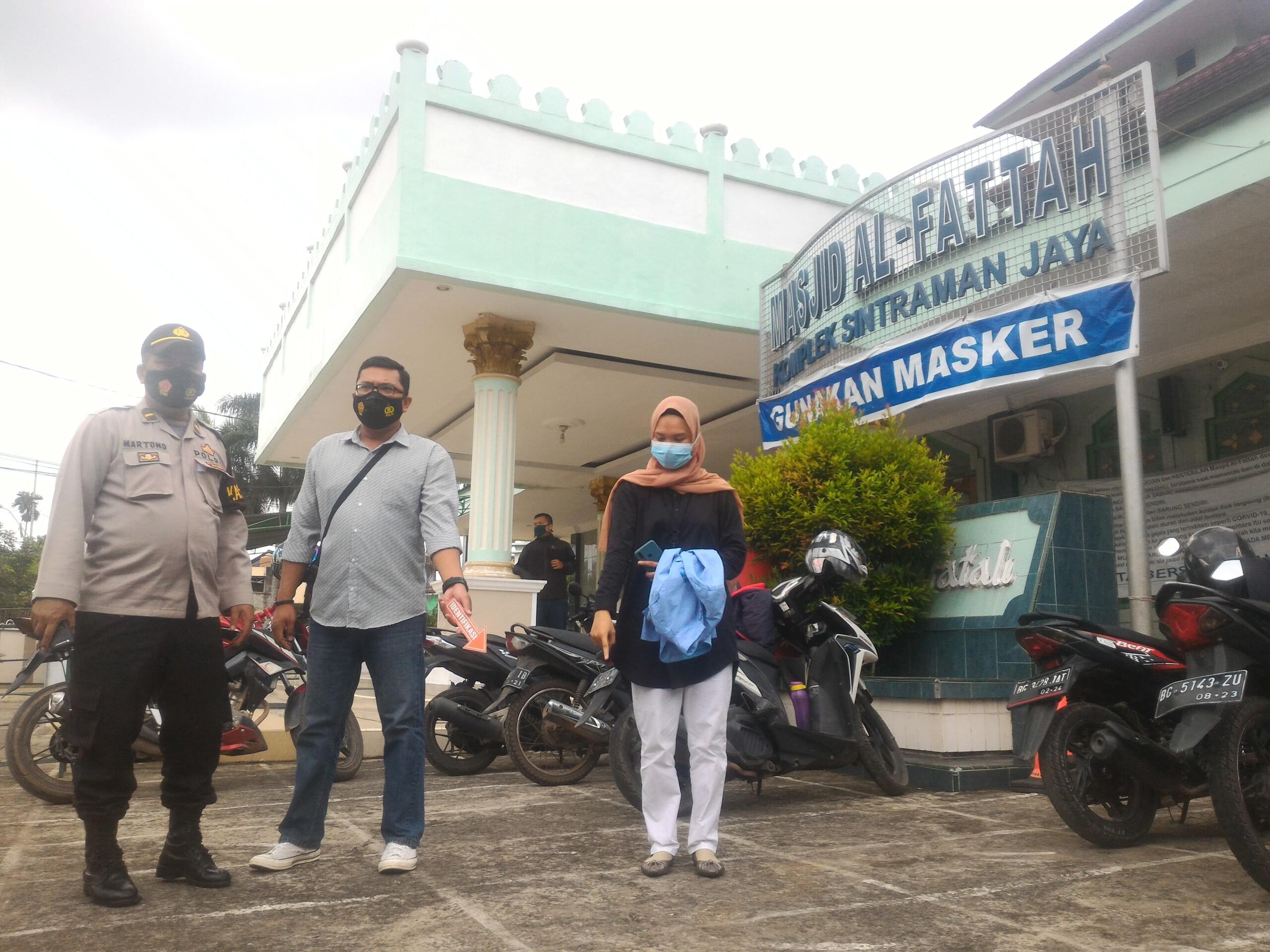 Nofti, mahasiswa UIN Raden Fatah Palembang yang hampir menjadi korban curanmor (Dede Febryansyah / Mattanews.co)
