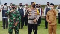 Polres Merangin melantik 240 orang personil Pokdar Kamtibmas Bhayangkara Madu (Dok. Humas Polres Merangin / Mattanews.co)