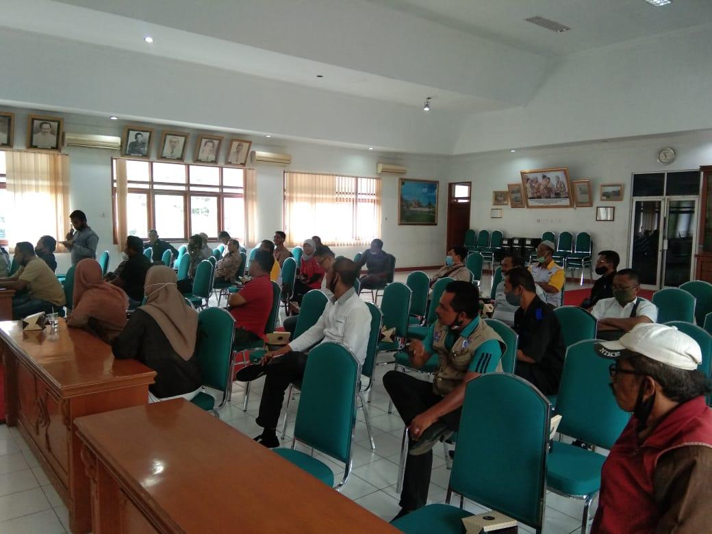 Diskominfo Tanah Datar menggelar pertemuan kerjasama dengan perwakilan media massa di Tanah Datar Sumbar (M Rafi / Mattanews.co)