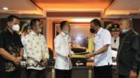 Kunker Komisi III DPRD Kabupaten Nias Utara ke Pemkot Medan Sumut (Dok. Humas Pemkot Medan / Mattanews.co)