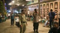 Petugas Satgas Covid - 19 kota Tebingtinggi saat melakukan pengawasan di tempat - tempat keramaian (Dok. Humas Pemkot Tebingtinggi / Mattanews.co)