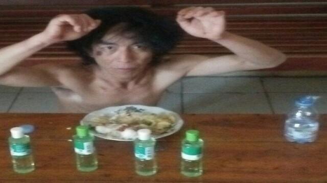 Agus Rahman, pelaku pencurian 4 botol minyak angin di Banyuasin Sumsel akhirnya dilepaskan (Nasir / Mattanews.co)