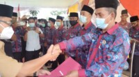 PPDI Rantau Bayur Banyuasin Sumsel resmi dilantik (Nasir / Mattanews.co)