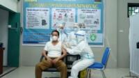 Kegiatan pelaksanaan Vaksinasi Covid-19 di Kantor Dinkes Tebing Tinggi Sumut (Dok. Humas Pemkot Tebing Tinggi / Mattanews.co)