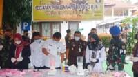 Pemusnahan narkoba dengan cara diblender oleh Kejari Prabumulih.