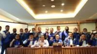 Pejabat DPC dan DPD Sumbar Partai Demokrat menolak Kongres Luar Biasa (KLB) untuk mengkudeta Ketua Umum Partai Demokrat Agu Harimurti Yudhoyono (AHY) (M Rafi / Mattanews.co)