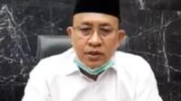 Bupati Muara Enim Juarsah saat merekam video klarifikasi terkait status tersangka yang ditetapkan KPK ke dirinya (Mattanews.co)