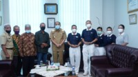 Wako Tebingtinggi saat menerima kunjungan para audiens terkait pembangunan UINSU (Dok. Humas Pemkot Tebing Tinggi / Mattanews.co)