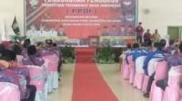 Pengukuhan pengurus baru PPDI Kecamatan Betung Banyuasin Sumsel (Nasir / Mattanews.co)