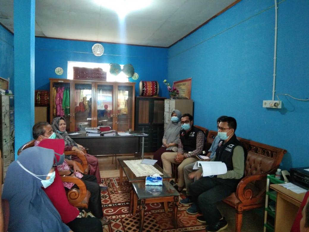 ACT mendatangi SDN 04 Nagari Tanjung Tanah Datar Sumbar untuk mengimplementasikan bantuan dari Lion Air (M Rafi / Mattanews.co)