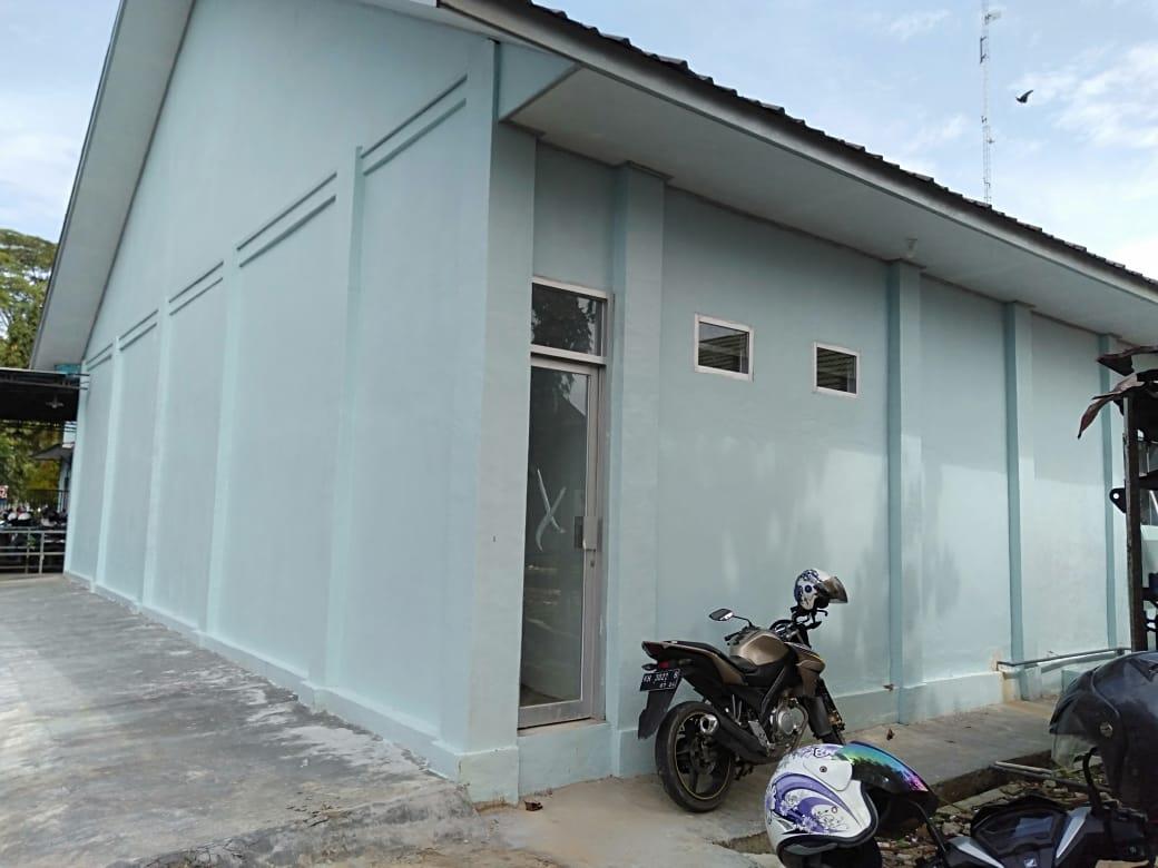 Laboratorium di RSUD Kabupaten Kapuas Kalteng yang belum rampung dibangun (Angga / Mattanews.co)