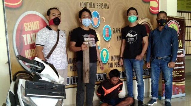 Rilis ungkap kasus pembunuhan di Prabumulih.