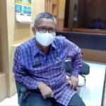 Kadis PU Sulbar, Muh. Aksan saat di temui di kantornya, kamis (25/2/2021).
