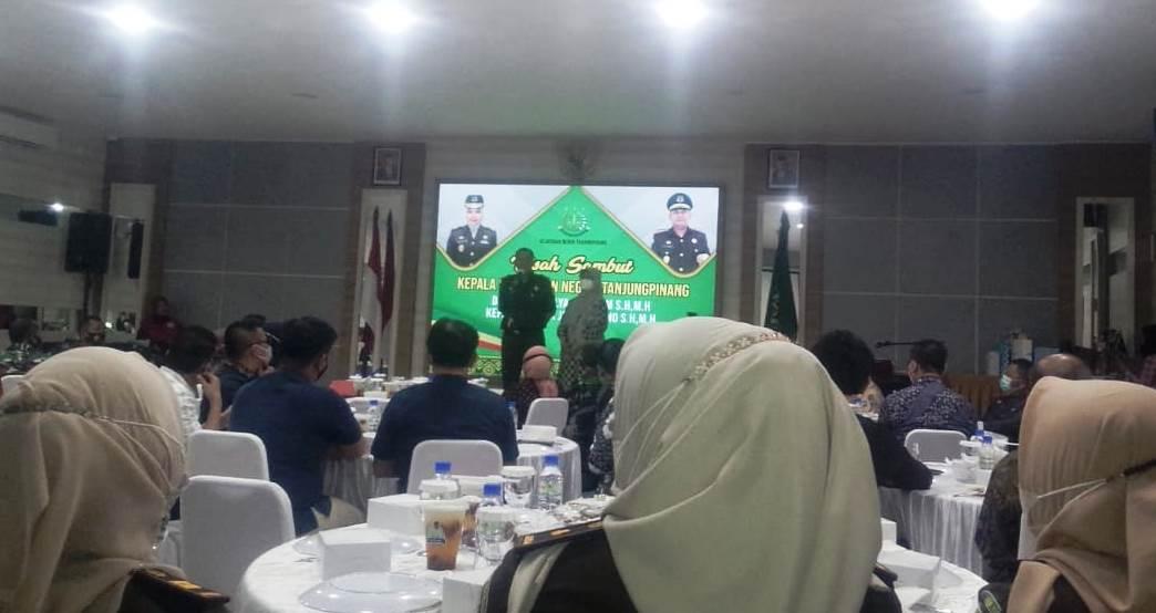 Pisah Sambut Kepala Kejaksaan Negeri (Kejari) Tanjungpinang Kepulauan Riau (Yata / Mattanews.co)