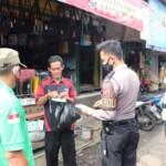 penyampaian himbauan protokol kesehatan kepada warga masyarakat diwilayah hukum Polres Ciamis