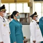Putri Presiden Joko Widodo (Jokowi), Kahiyang Ayu, dilantik sebagai Ketua TP PKK Medan Sumut (Tison Sembiring / Mattanews.co)