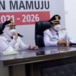 asangan Bupati dan Wakil Bupati Kabupaten Mamuju, Hj.Sitti Sutinah Suhardi dengan Ado Mas'ud (Tina-Ado)