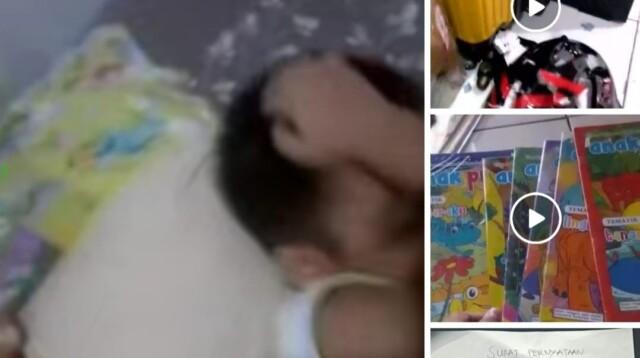 Beberapa postingan video penganiayaan ibu ke anak kandungnya di Medan, disebarluaskan oleh akun Facebook Alferin Pdg (Dok. Facebook Alferin Pdg / Mattanews.co)