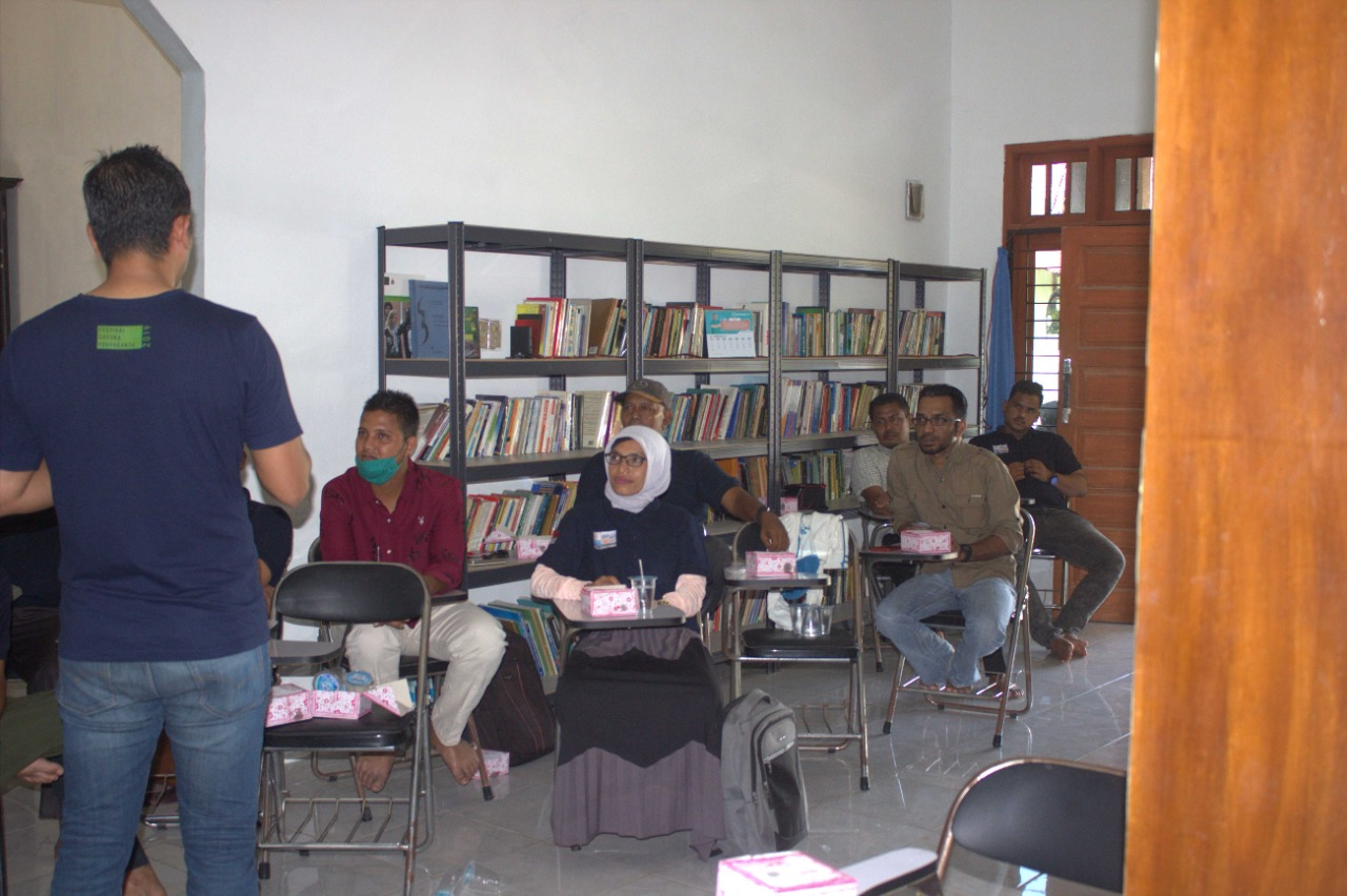Persatuan Pewarta Warga Indonesia (PPWI) Kota Lhokseumawe kembali menggelar pelatihan jurnalistik dalam program Sekolah Jurnalisme Warga