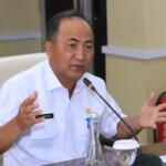 Sekretaris Daerah Kabupaten Muba Drs H Apriyadi MSi