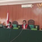 sidang perdana dugaan korupsi penyelewengan Dana Covid-19 tahun anggaran 2020