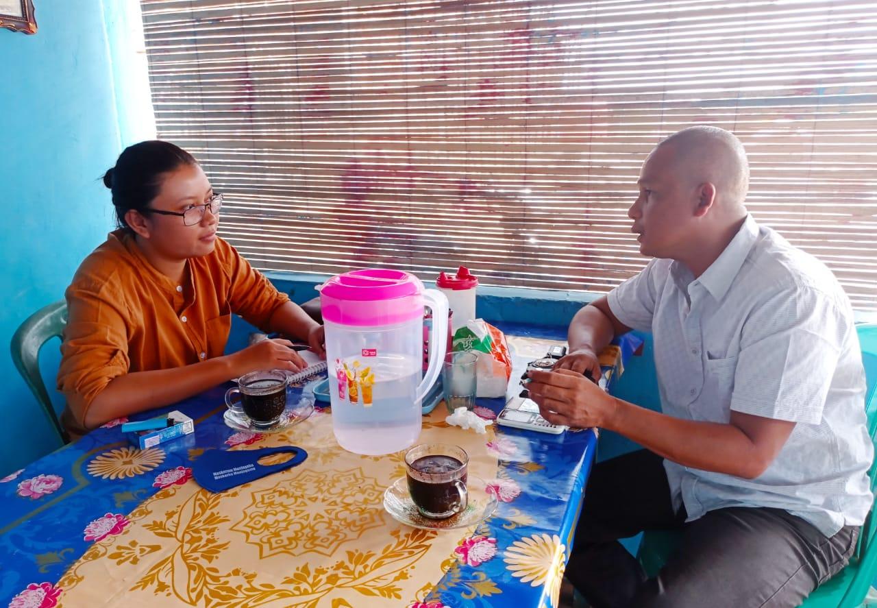 Komandan (Dan) Komando Inti Pemuda Pancasila (KOTI -PP) Kota Prabumulih Imhar Kamaludin