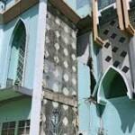 Bangunan rusak terdampak bencana gempa di Sulbar.
