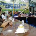 Dinas Kominfo Kapuas menggelar silaturahmi dengan insan pers di Kapuas Kalteng (Angga / Mattanews.co)