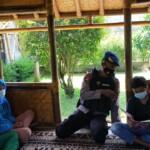 jajaran anggota Kompi 1 Batalyon A Pelopor secara rutin menggelar kegiatan melalui program BRAIN (Brimob Ramah Anak Indonesia) pada Jumat, (05/03/2021).