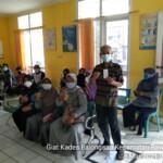 Pemerintah Desa Balongsari, Kecamatan Rawamerta melaksanakan suntik vaksin covid-19 tahap pertama yang bertempat di Puskesmas Balongsari, Sabtu (06/03/2021).