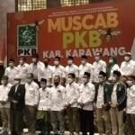 Rahmat Toleng sebagai ketua berdasarkan hasil keputusan Musyawarah Cabang (Muscab) DPC Partai PKB Karawangyang digelar di Hotel Resinda Karawang, Minggu ( 7/3/2021).