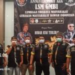 "Bertajuk ""Rubah atau Terlibas"" LSM GMBI Distrik Kabupaten Karawang memperingati hari ulang tahun LSM GMBI ke-19 ini dengan malaksanakan tasyakuran dan Do'a bersama, bertempat diballroom Britz Hotel Karawang, Rabu (10/3/2021)."