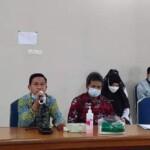 pertemuan di Rumah Sakit Jiwa Provinsi Bangka Belitung pada Rabu siang (10/03).