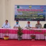 rapat konsultasi publik tahap 2 Kegiatan Pembangunan Jalan Tol Betung (SP. Sekayu) – Tempino – Jambi di Wilayah Kabupaten Muba, Sumsel (Dok. Humas Pemkab Muba / Mattanews.co)