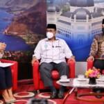 Wali Kota (Wako) Medan Bobby Nasution dalam sesi talkshow oleh salah satu stasiun televisi swasta di Indonesia (Dok. Humas Pemkot Medan / Mattanews.co)