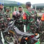 Pengecekan kelengkapan kendaraan di Kodim 0420/Sarko Sarolangun Jambi (Yulisman / Mattanews.co)