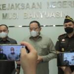 Dodi hadir dan apresiasi Pencanangan Zona Integritas Menuju Wilayah Bebas dari Korupsi (WBK) / Wilayah Birokrasi Bersih dan Melayani (WBBM) Kejaksaan Negeri Musi Banyuasin Tahun 2021.
